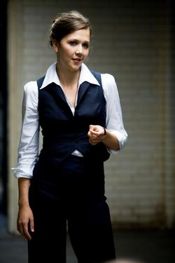 Maggie Gyllenhaal as Rachel Dawes in &quot;The Dark Knight.&quot;